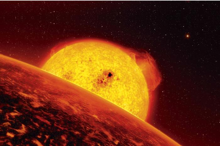 "The extrasolar planet CoRoT-7b, a ""super earth,"" is too hot for life. PLATO will look specifically for candidates where life is possible."