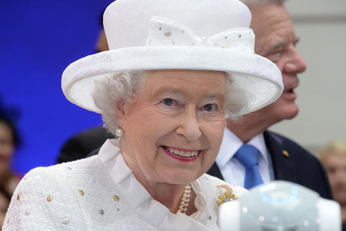 Queen Elizabeth II: A series of lectures at Technische Universität Berlin was named after her.