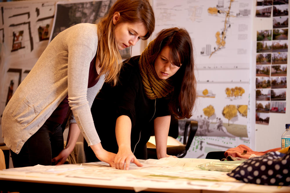 Landscape architecture is one of the many subjects that can be studied in Berlin.