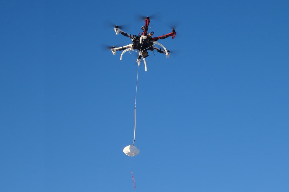 Measurements are taken at different heights: Even multicopters are used.