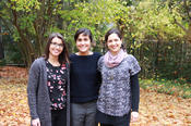 They developed FLOURish, a method for producing flour with little or no gluten (from left to right): Claudia Stosno, Miriam Boyer, and Marlene Bruce Vázquez del Mercado.