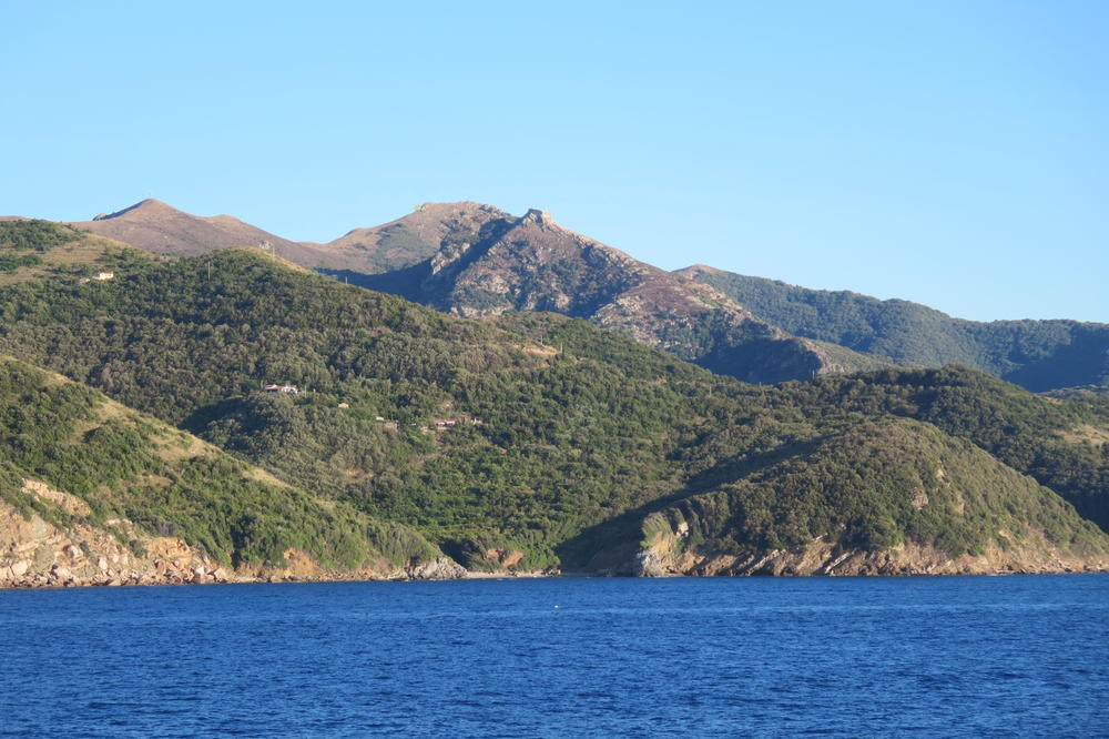 Today the Mediterranean island of Elba is a popular destination for tourists.