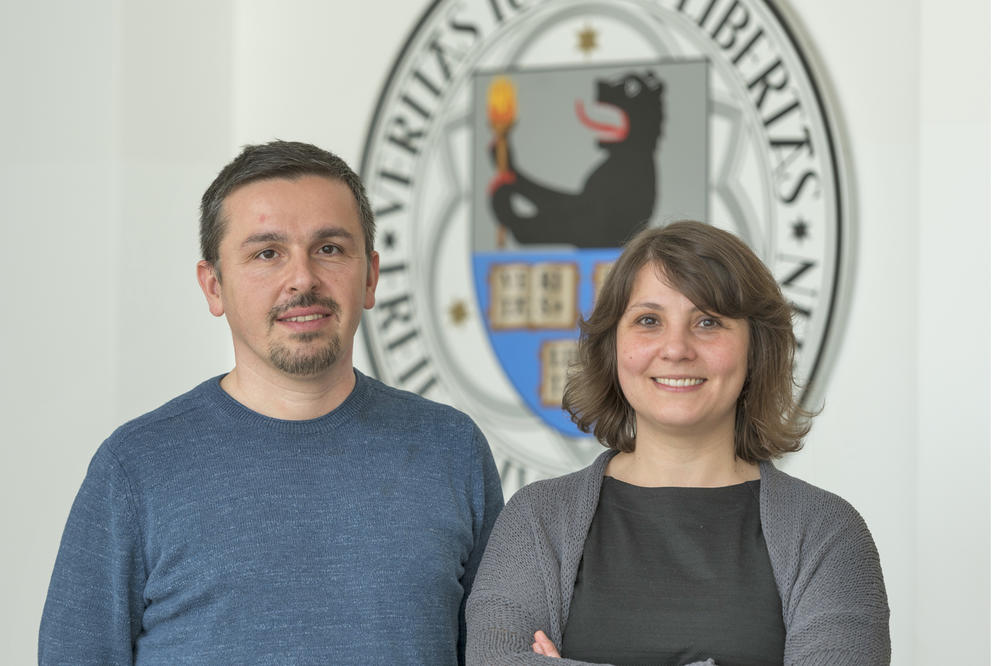 Arrived in Berlin: Esra Demir-Gürsel, lawyer, and Kivanç Ersoy, mathematician.