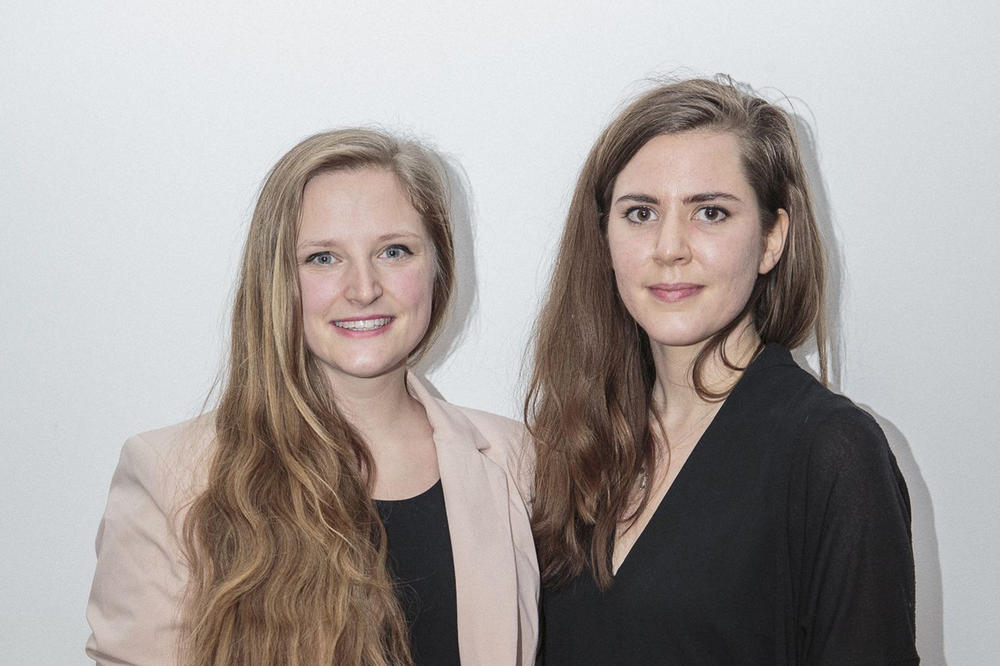 "Laura Bücheler and Isabella Hillmer came up with their founding idea called ""Ghost – feel it."