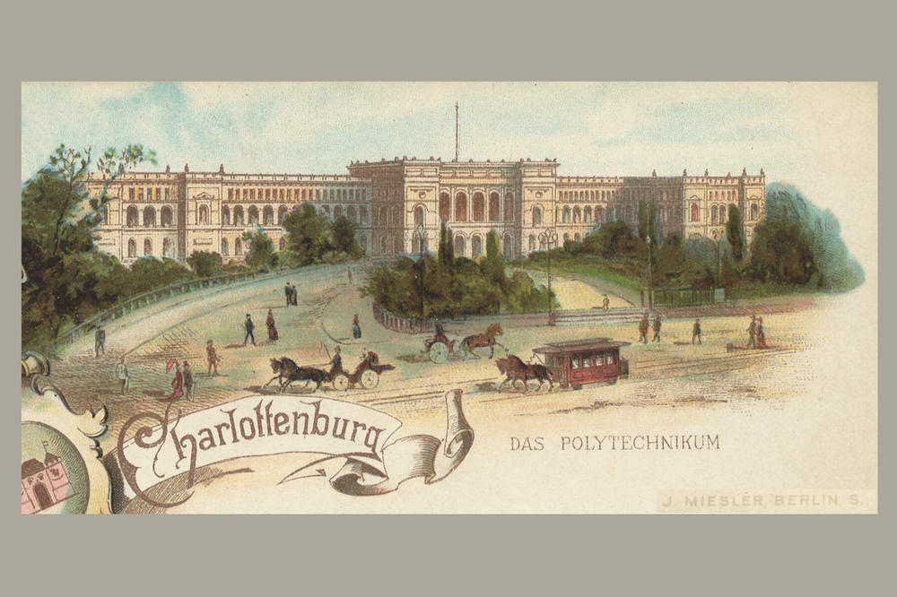 The representative polytechnic in Charlottenburg, built between 1878 and 1884, testified to the growing self-confidence of universities as academic institutions.