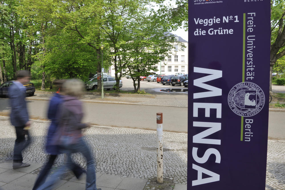 Nutrition trend: Germany's first campus vegetarian dining hall opened at Freie Universität: Veggie No 1.