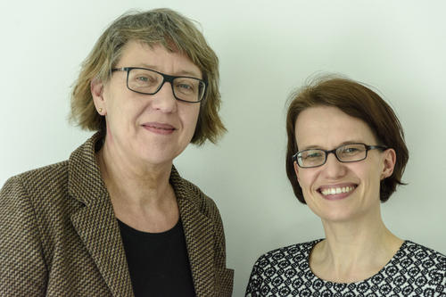 Art historian Meike Hoffmann (at left) at Freie Universität and historian Christine Howald (at right) at Technische Universität are planning a cross-university degree program in provenance research.