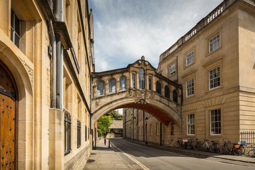 The University of Oxford – here with one of its landmarks, the Hertford Bridge – and the Berlin University Alliance decided to establish a strategic partnership in 2017.