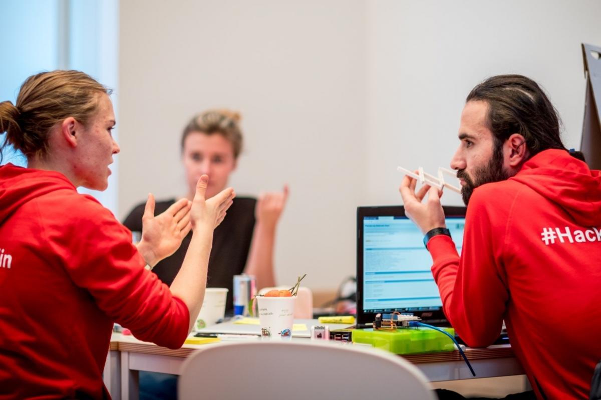 Die Studierenden und ihre Ideen sind am Einstein Center Digital Future ein wichtiger Faktor, um Zukunft nicht nur zu erforschen, sondern auch zu gestalten.