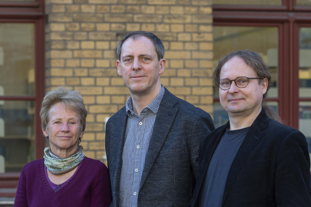 Left to right: Professor Vera Regitz-Zagrosek, Professor Ilja Demuth of Charité – Universitätsmedizin Berlin, and Professor Denis Gerstorf of Humboldt-Universität zu Berlin.