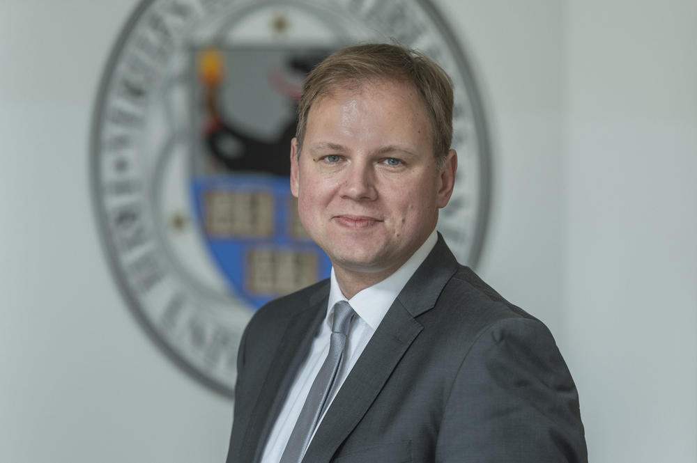 Hauke Heekeren, Vice President for Learning and Teaching at Freie Universität Berlin.